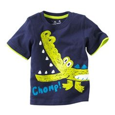 Jumping Beans Mock-Layer Alligator Tee - Baby (Kohl's)