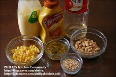 """양배추를 가장 맛있게 먹는 방법~땅콩 소스를 뿌린 """"양배추샐러드""""~ Cooking, Breakfast, Food, Food Food, Kitchen, Morning Coffee, Essen, Meals, Yemek"""