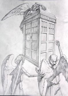 Tardis Drawing For my notebook drawings,