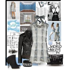 """Rafe """"Sarina"""" large studdede envelope clutch in a set titled """"Unlock your style"""" by shape-shifter on Polyvore, available @Bloomingdale's"""