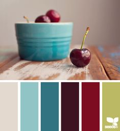 Cherry Palette from Design Seeds