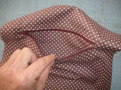 Tuto technique montage poche avec fermeture éclair sur doublure de sac