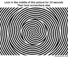 Trippy optical illusion (GIF animation) by Polina666 | We Heart It