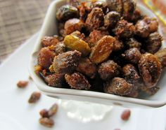 Sweet & Salty Smoked Pistachio Clusters