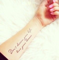 Excellent Literary Tattoo Quotes on Forearm - It's always darkest before the dawn   Search Unique tattoo quotes