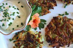 Zucchini Latkes - StoneGable