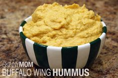 Buffalo wing hummus from @Skinny Mom #Gametime #healthydip #diprecipes