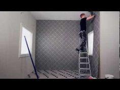 Tapetointi non-woven- tai tasoitetapetilla How To Install Wallpaper, Home Appliances, Tips, House Appliances, Appliances, Counseling