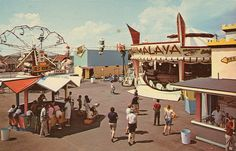 Vintage Travel Postcards: Shaheen's Fun-O-Rama Park - Salisbury Beach, Massachusetts