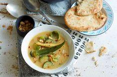 Gemüse-Curry mit Erdnuss-Soße Rezept - FIT FOR FUN