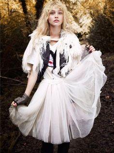 Sasha Pivovarova was born in Moscow on 21 January 1986.
