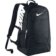 Amazon.com  New Nike Team Training Medium Backpack Black Black White  NIKE   Sports   Outdoors c4a086544e20a