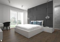 Sypialnia styl Minimalistyczny - zdjęcie od BIG IDEA studio projektowe - Sypialnia - Styl Minimalistyczny - BIG IDEA studio projektowe