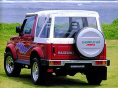 Suzuki Samurai Cabrio, it was fun, but do not drive it on long trips.....