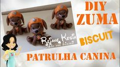 Patrulha canina - Zuma - biscuit - Rejane Kesia