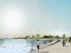 Almere ¿Ciudad más ecológica del mundo en 2022?  El estudio de arquitectura MVRDV acaba de presentar su proyecto para celebrar próxima edición de Floriade en la ciudad de Almere(Países Bajos).