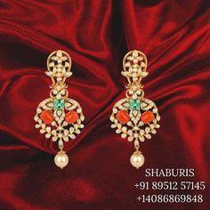 Coral Jewelry, Jewelry Sets, Gemstone Jewelry, Silver Jewelry, Pakistani Jewelry, Studs, Stud Earrings, 18k Gold, Jewelery