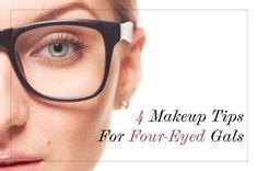 Tuesday Tutorial: 4 Makeup Tips for Four-Eyed Gals.Makeup.com
