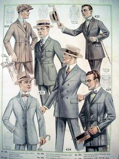 Men's Fashion - A Christmas Wish List In The 1920's....guy's fashions haven't changed THAT much so for 1920 theme parties they have it PRETTY EASY!