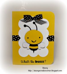 "Bee from Create A Critter Cricut cartridge 3.25"""