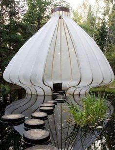 Lake tent
