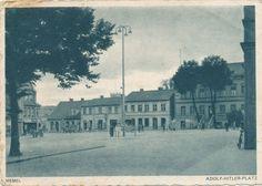 AK Memel, Marktplatz, 1943