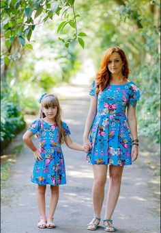 Good item Beke Mata Mother Daugher Dresses 2017 Summer Casual Mother And Daughter Clothes Floral Print Family Look Matching Clothing Set Mother Daughter Fashion, Mom Daughter, Mom Dress, Baby Dress, Mommy And Me Outfits, Girl Outfits, Mommys Girl, Matching Family Outfits, Kid Outfits