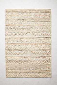 Textured Stillwater Rug #anthropologie. A bit of a splurge, but it's so beautiful.