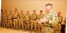 """EMBLEMA DE ONOARE A FORŢELOR TERESTRE AJUNGE ÎN ŢARA VIKINGILOR • După şase luni de misiune în arşiţa Afganistanului, cei 14 ofiţeri de stat major încadraţi în detaşamentul ROU AIAT (Army Institutional Advisory Team) din NKC (New Kabul Compound)  pot raporta cu mândrie """"Misiune îndeplinită!"""" Theatres, Fashion, Military, Moda, Fashion Styles, Fashion Illustrations, Teatro"""