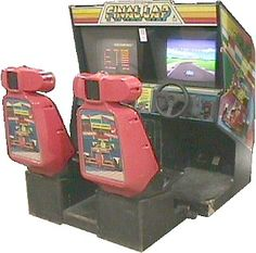 """Final Lap"" arcade game"