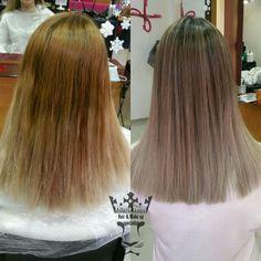 Για μια πιο ομαλή μετάβαση και ένα πιο ψυχρό αποτέλεσμα! ! #malibuc #makeover #CPR #wellness #treatments #olaplex #colorexpert #hairspecialist #hairstylist #hairtransformation #hairdressing #balayage #colorexpert #hairdoctor #kalliopeveniou