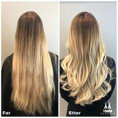 Eksempel på før og etter bilde med Bayalage Hair Cuts, Long Hair Styles, Classic, Beauty, Pictures, Haircuts, Derby, Long Hairstyle, Long Haircuts