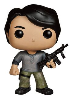 The Walking Dead POP! Vinyl Figur Prison Glenn 10 cm  The Walking Dead POP Figuren - Hadesflamme - Merchandise - Onlineshop für alles was das (Fan) Herz begehrt!