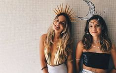 21 Easy and Sexy Halloween Costumes for Your Inspiration; Halloween costumes for teens; Halloween costumes for girls; Halloween costumes for women. Mode Halloween, Halloween Mignon, Couples Halloween, Best Friend Halloween Costumes, Halloween Inspo, Cute Costumes, Creative Halloween Costumes, Halloween 2018, Purim Costumes