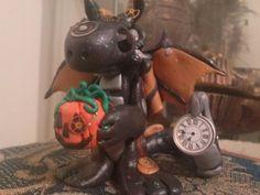 HALLOWEEN Steampunk Dragon with steampunk by TheDragonsMark