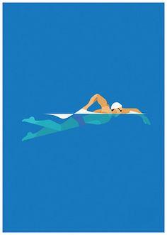 swim illustration