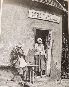 Ínségkonyha a Nyitra vármegyei Moravánban 1910. Central Europe, Budapest Hungary, Old Photos, Glass Art, Retro Vintage, The Past, Old Things, History, Austria