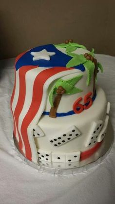 Cake Pretty Cakes, Cute Cakes, Beautiful Cakes, Amazing Cakes, Puerto Rican Dishes, Puerto Rican Recipes, Bling Wedding Cakes, Puerto Rico Food, Specialty Cakes