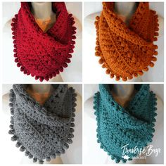 Crochet Scarves, Crochet Shawl, Crochet Hooks, Free Crochet, Knit Crochet, Crochet Cowl Free Pattern, Crocheted Scarves Free Patterns, Crochet Patterns For Scarves, Diy Crochet Scarf