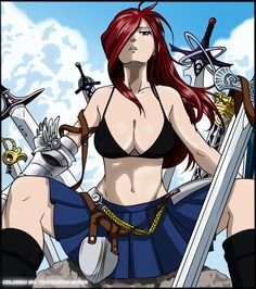 Erza fairy tail sex