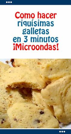 How to make delicious cookies in 3 minutes. - Comida Faciles Y Rapida My Recipes, Sweet Recipes, Cookie Recipes, Snack Recipes, Microwave Cake, Microwave Recipes, Biscuit Cookies, Yummy Cookies, Love Eat