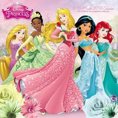 Disney Princess Wall Calendar | $14.99 | Fans of all ages have adored these timeless Disney heroines for generations. From Snow White to Cinderella, Disney Princess is the dream room decoration for girls of all ages. Spend the year with your favorite Disney Princesses, including Sleeping Beauty, Ariel, Belle, and many more in Disney Princess Wall Calendar.