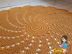 Crochet Table Mat, Crochet Mat, Crochet Carpet, Crochet Baby Toys, Crochet Tablecloth, Crochet Mandala, Crochet Home, Crochet Doilies, Crochet Leaf Patterns
