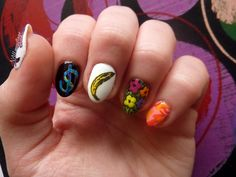 NAILmouflage - pop art nails