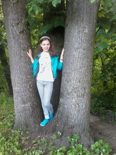 With a big tree