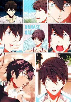Free! Iwatobi Swim Club -Haruka Nanase <3