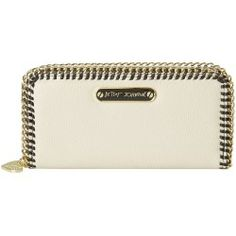 Buy Betsey Johnson - Tough Love Zip Around (Black/Cream) - Bags and Luggage new - Zappos is proud to offer the Betsey Johnson - Tough Love Zip Around (Black/Cream) - Bags and Luggage: Edgy accessories are the spice of life stash your stuff in this fabulous Tough Love Zip Around wallet from Betsey Johnson!