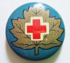 Antique American Red Cross Pinback Pin Collectible Memorabilia History by parkledge on Etsy