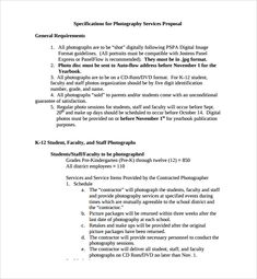 Sample Photography Proposal Template   9+ Free Documents In PDF, Word