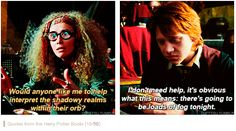 Harry Potter - quotes from books. This line always makes me laugh!